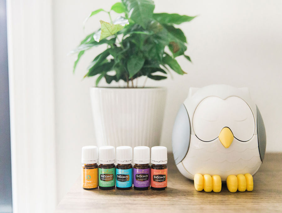 kid scents oils with diffuser